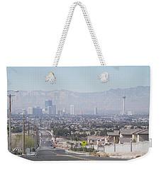 Vista Vegas Weekender Tote Bag
