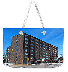 Weekender Tote Bag featuring the photograph Vistula Manor by Michiale Schneider