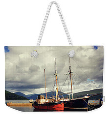 Vital Spark Puffer Inverarary Weekender Tote Bag by Lynn Bolt
