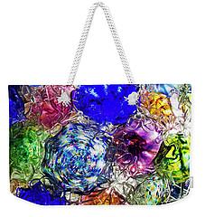 Vitreous Flora Weekender Tote Bag by Gary Holmes