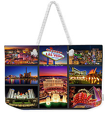 Viva Las Vegas Collection Weekender Tote Bag by Aloha Art