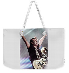 Vivian Campbell - Campbell Tough Weekender Tote Bag by Luisa Gatti