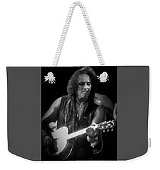Vivian Campbell - Campbell Tough3 Weekender Tote Bag by Luisa Gatti