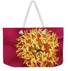 Vivid Flower Weekender Tote Bag