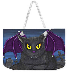 Vlad Vampire Cat Weekender Tote Bag