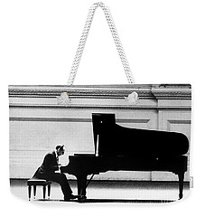 Weekender Tote Bag featuring the photograph Vladimir Horowitz by Granger