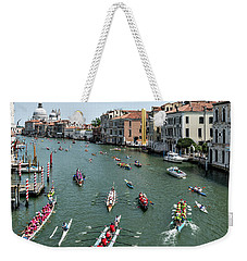 Vogalonga Regatta Action Weekender Tote Bag