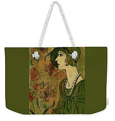 Vogue Twenties Weekender Tote Bag