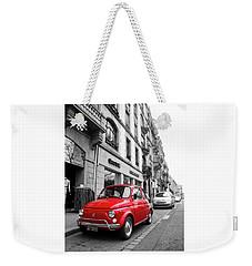 Voiture Rouge Weekender Tote Bag