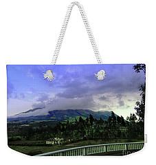 Volcan Cotacachi Weekender Tote Bag