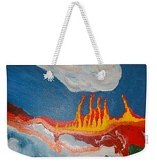 Volcanic Action Weekender Tote Bag