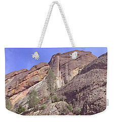 Weekender Tote Bag featuring the photograph Volcanic Colors by Art Block Collections