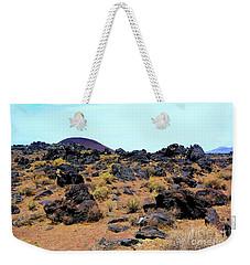 Volcanic Field Weekender Tote Bag