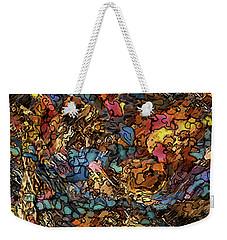 Volcanic Flow Weekender Tote Bag