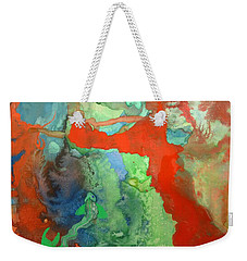 Volcanic Island Weekender Tote Bag by Mary Ellen Frazee