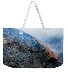 Weekender Tote Bag featuring the photograph Volcanic Ridge by M G Whittingham