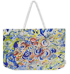 Volcanic Sea Acrylic/water Weekender Tote Bag