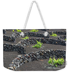 Volcanic Vineyards Weekender Tote Bag by Delphimages Photo Creations
