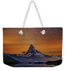 Volcano Fountain Weekender Tote Bag