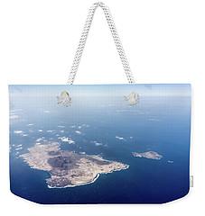 Volcano Island Weekender Tote Bag by Teemu Tretjakov