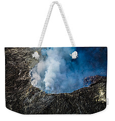 Weekender Tote Bag featuring the photograph Volcano by M G Whittingham