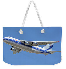 Volga-dnepr An-124 Ra-82068 Take-off Phoenix Sky Harbor June 15 2016 Weekender Tote Bag
