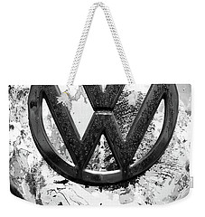 Weekender Tote Bag featuring the photograph Volkswagon Vw by Kelly Hazel