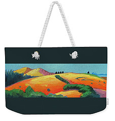 Voluptuous Windy Hill Weekender Tote Bag