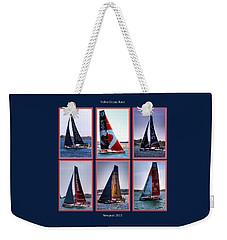 Volvo Ocean Race Newport 2015 Weekender Tote Bag
