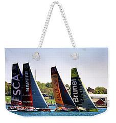 Volvo Ocean Race Newport Ri Weekender Tote Bag