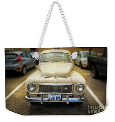 Weekender Tote Bag featuring the photograph Volvo, The California Girlfriend by Craig J Satterlee