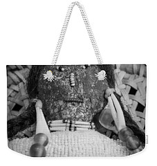 Weekender Tote Bag featuring the photograph Voodoo Girl by Lynn Sprowl