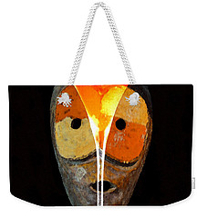Weekender Tote Bag featuring the painting Voodoo Martini by David Lee Thompson