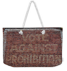 Weekender Tote Bag featuring the photograph Vote Against Prohibition 2 by Paul Ward