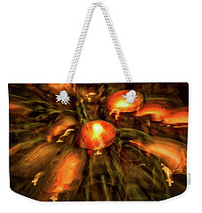 Votive Candles Abstract Weekender Tote Bag by Stuart Litoff