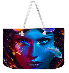 Voyager Beyond The Clouds Weekender Tote Bag