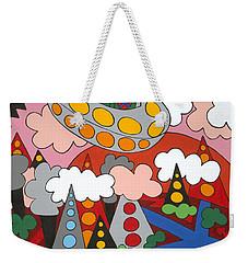 Voyager Weekender Tote Bag by Rojax Art