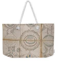 Voynich Astro 3x3 Weekender Tote Bag
