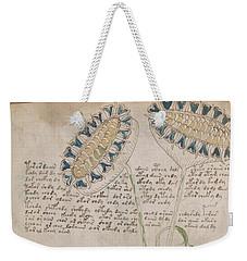 Voynich Flora 04 Weekender Tote Bag