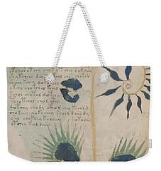 Voynich Flora 12 Weekender Tote Bag