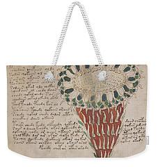Voynich Flora 15 Weekender Tote Bag