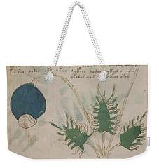 Voynich Flora 20 Weekender Tote Bag