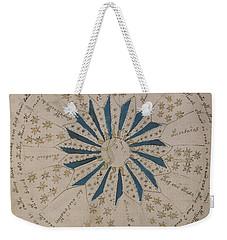 Voynich Manuscript Astro Rosette 1 Weekender Tote Bag