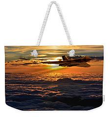 Vulcan Bomber Sunset 2 Weekender Tote Bag