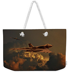 Vulcan Bombers Into The Storm Weekender Tote Bag