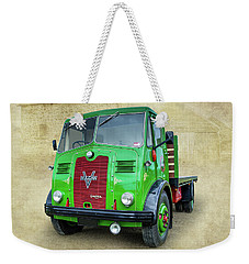 Weekender Tote Bag featuring the photograph Vulcan by Keith Hawley