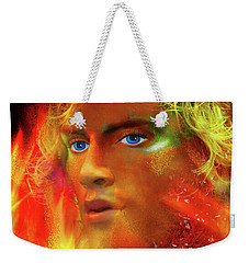 Weekender Tote Bag featuring the photograph Vulcan by LemonArt Photography