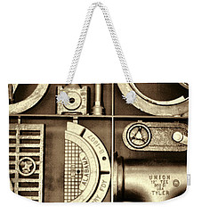Vulcan Steel Steampunk Ironworks Weekender Tote Bag