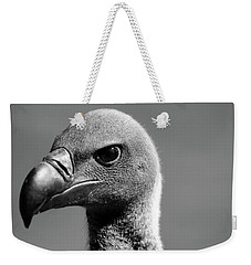 Vulture Eyes Weekender Tote Bag by Martin Newman