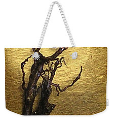 Vulture With Textured Sun Weekender Tote Bag
